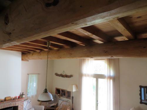 Le plafond du séjour