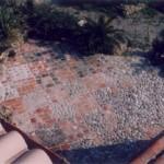Terrasse en patchwork