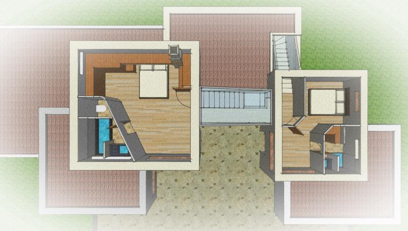 Plan des étages