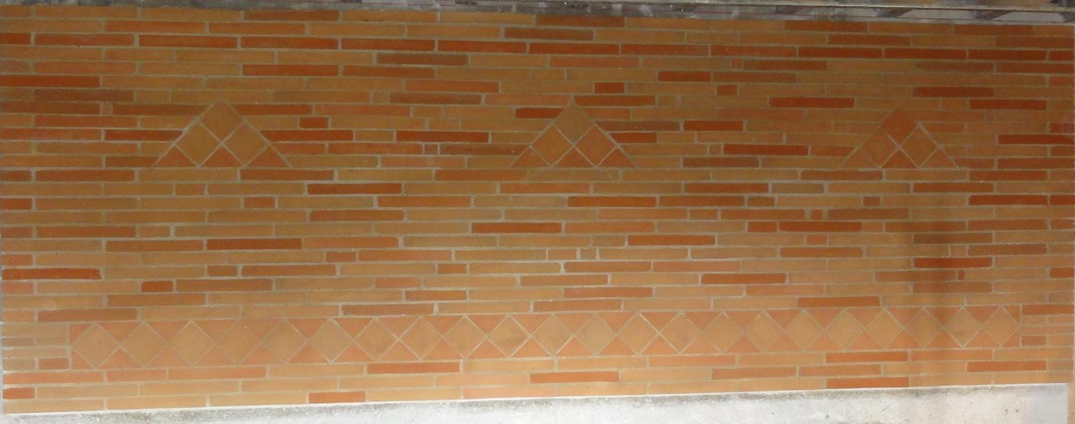 Mur intérieur décoratif