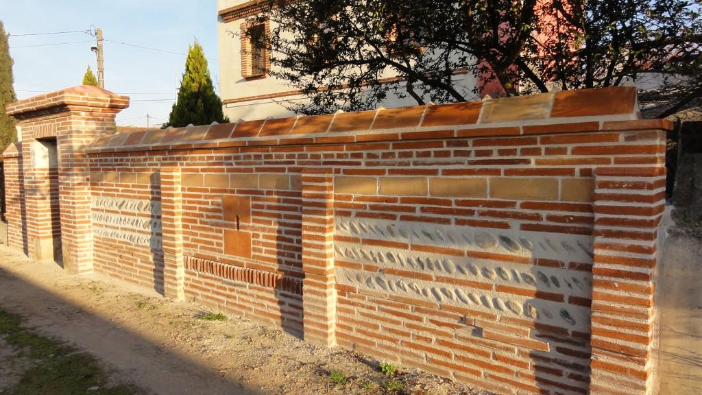 Architecture pierre graff murs piliers autres - Mur de galet exterieur ...