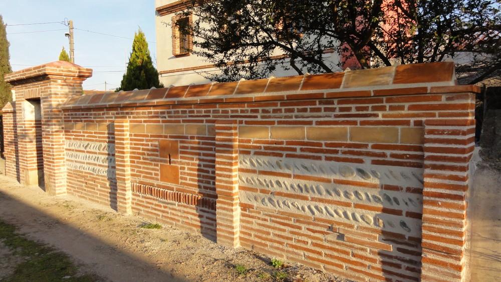 Architecture pierre graff murs piliers et autres for Mur de galet exterieur