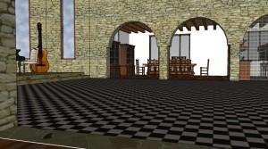 La salle à manger depuis le salon