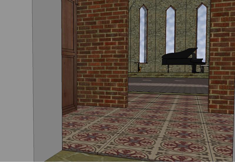 La nef depuis l'entrée